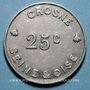 Coins Crosne (91). Usine Baille-Lemaire et Fils. 25 centimes