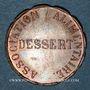 Coins Dôle (39). Association alimentaire. Dessert 1856