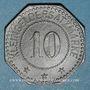 Coins Forbach (57). Ville. 10 pfennig