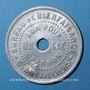 Coins Gennevilliers (92). Bureau de Bienfaisance. Bon pour un sac de charbon. Chiffre 7 /revers