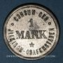 Coins Illkirch-Graffenstaden (67). Consum-Genossenschaft (1873-79). 1 mark