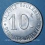 Coins La Courneuve (93). Société Rateau. 10 centimes