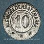 Coins Sarre-Union (67). Ville. 10 (pfennig)