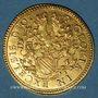 Coins Alsace. Strasbourg. Municipalité. Double ducat, 17e siècle