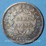 Coins 1er empire (1804-1814). 1/2 franc EMPIRE 1811A