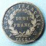 Coins 1er empire (1804-1814). 1/2 franc EMPIRE 1812W Lille