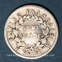 Coins 1er empire (1804-1814). 1/2 franc EMPIRE 1813W Lille