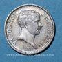 Coins 1er empire (1804-1814). 1/4 franc, tête de nègre, 1807A
