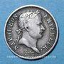 Coins 1er empire (1804-1814). 1/4 franc, tête de nègre laurée, 1807A