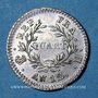 Coins 1er empire (1804-1814). 1/4 franc, tête nue, an 12H. La Rochelle
