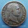 Coins 1er empire (1804-1814). 1 franc REPUBLIQUE 1808W. Lille