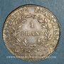 Coins 1er empire (1804-1814). 1 franc tête nue an 13A