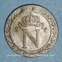 Coins 1er empire (1804-1814). 10 centimes 1810Q. Perpignan