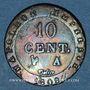 Coins 1er empire (1804-1814). 10 cmes 1808A