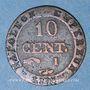 Coins 1er empire (1804-1814). 10 cmes 1808I. Limoges