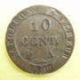 Coins 1er empire (1804-1814). 10 cmes 1809A
