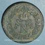 Coins 1er empire (1804-1814). 1er blocus de Strasbourg 1814. 1 décime 1814BB. Sans points