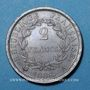 Coins 1er empire (1804-1814). 2 francs, REPUBLIQUE, 1808A
