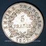 Coins 1er empire (1804-1814). 5 francs EMPIRE 1809A