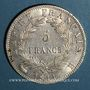Coins 1er empire (1804-1814). 5 francs EMPIRE 1811 B. Rouen