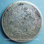Coins 1er empire (1804-1814). 5 francs, REPUBLIQUE, 1808A