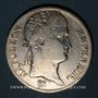 Coins 1er empire (1804-1814). 5 francs, REPUBLIQUE, 1808B. Rouen