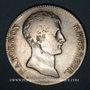 Coins 1er empire (1804-1814). 5 francs type provisoire an 12A