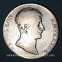 Coins 1er empire (1804-1814). 5 francs type provisoire an 12K. Bordeaux
