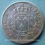 Coins 1ère restauration (1814-15), 5 francs buste habillé, 1814L, Bayonne
