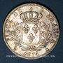 Coins 1ère restauration (1814-1815). 5 francs 1814A
