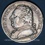 Coins 1ère Restauration (1814-1815).  francs, buste habillé. 1814I. Limoges
