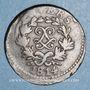 Coins 1ère restauration (1814-1815). Siège d'Anvers.5 cmes 1814
