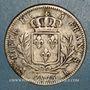 Coins 1ère restauration. Louis XVIII (1814-15). 5 francs buste habillé 1815K. Bordeaux
