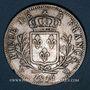 Coins 1ère Restauration. Louis XVIII (1814-1815). 5 francs buste habillé 1814MA. Marseille