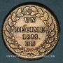 Coins 2e blocus de Strasbourg 1815. 1 décime 1815 BB points après DECIME et 1815