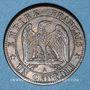 Coins 2e empire (1852-1870). 1 centime tête laurée 1870A