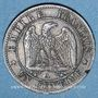 Coins 2e empire (1852-1870). 1 centime, tête nue, 1854A