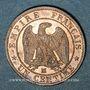 Coins 2e empire (1852-1870). 1 centime, tête nue, 1854MA. Marseille