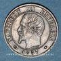 Coins 2e empire (1852-1870). 1 centime, tête nue, 1857MA. Marseille