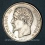 Coins 2e empire (1852-1870). 1 franc, tête nue, 1853A