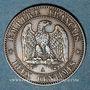 Coins 2e empire (1852-1870). 2 centimes, tête laurée, 1862A