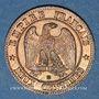 Coins 2e empire (1852-1870). 2 centimes, tête laurée, 1862BB. Strasbourg. Petit BB