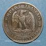 Coins 2e empire (1852-1870). 2 centimes, tête laurée, 1862K. Bordeaux
