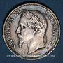 Coins 2e empire (1852-1870). 2 francs, tête laurée, 1869BB. Strasbourg