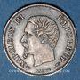 Coins 2e empire (1852-1870). 20 centimes, tête nue, 1854A