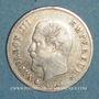 Coins 2e empire (1852-1870). 20 centimes tête nue 1860BB. Strasbourg
