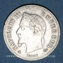 Coins 2e empire (1852-1870). 20 cmes tête laurée, petit module 1866A