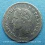 Coins 2e empire (1852-1870), 20 cmes tête laurée, petit module 1866K Bordeaux