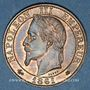 Coins 2e empire (1852-1870). 5 centimes, tête laurée, 1861A
