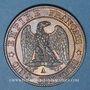 Coins 2e empire (1852-1870). 5 centimes, tête laurée, 1865A